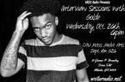 GOLDe WSTU Radio Interviw