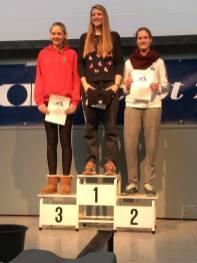 Klara Thiele: Platz 3 bei den Juniorinnen B