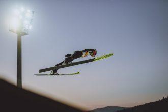 21.11.2020, Adam Malysz Arena, Wisla, POL, FIS Weltcup Ski Sprung, Teambewerb, im Bild Constantin Schmid (GER) // Constantin Schmid of Germany during the men's team competition of FIS Ski Jumping World Cup at the Adam Malysz Arena in Wisla, Poland on 2020/11/21. EXPA Pictures © 2020, PhotoCredit: EXPA/ JFK