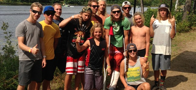 Riders represented BC at the 2013 Wakeboard Nationals in Bala