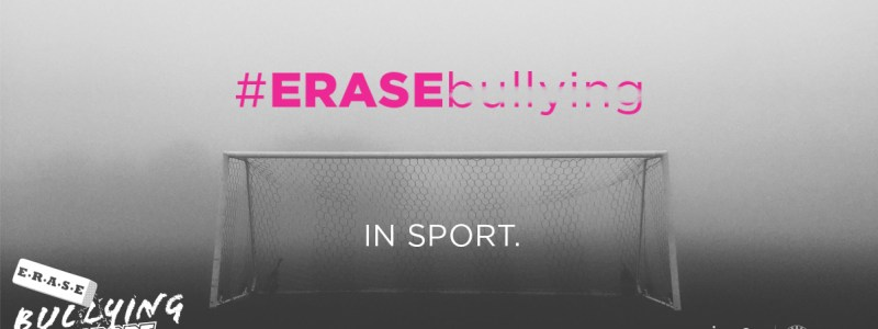 Take the Pledge: #EraseBullying in Sport