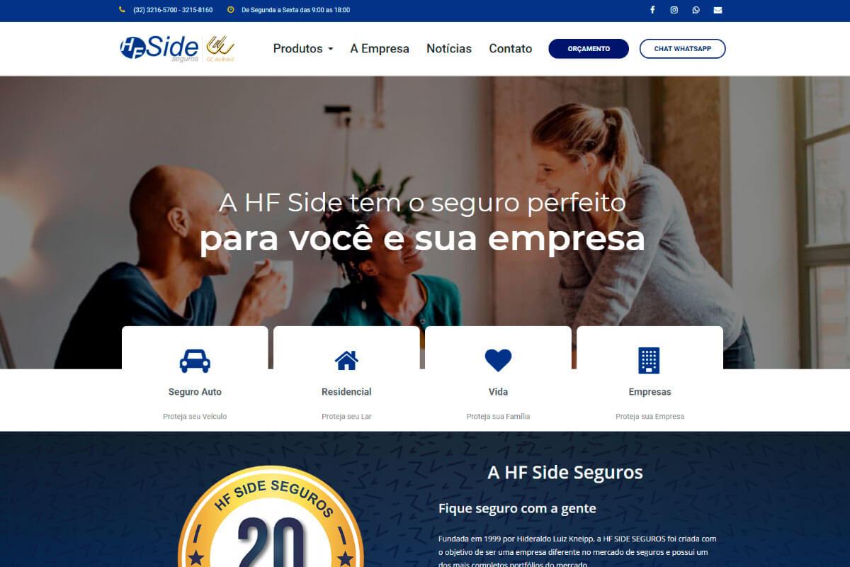 Portfólio - HF Side Seguros