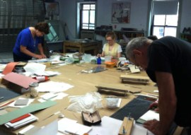 Full-Tilt Bookbinding: Class in session