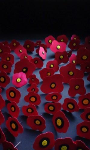 Indigenous Poppies (detail) by Pia Larsen