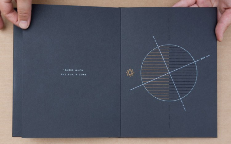 "Spread of ""Nights, the Cosmos, and I"""
