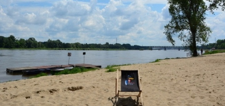 Ratusz planuje aktywować dwa kąpieliska nad Wisłą