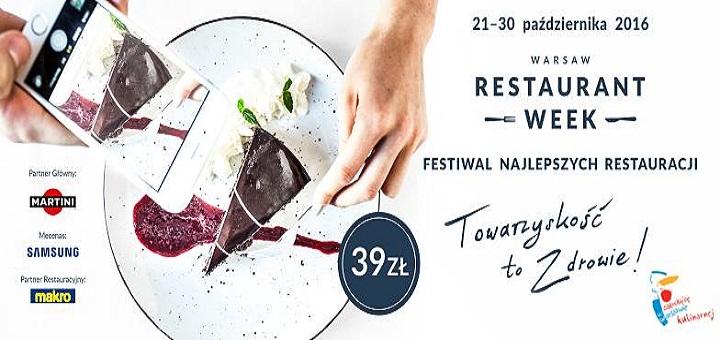 Warsaw Restaurant Week 2016