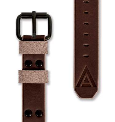 Bespoke leather watch straps front brown by WT Author