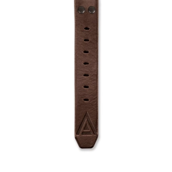 Handmade straps bottom brown by WT Author