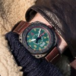Aviation watch by wt author green no 1940 wrist