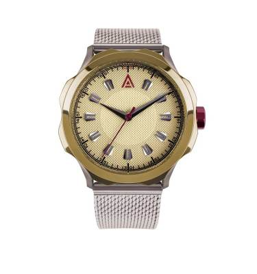 DRESS WATCHES FOR MEN MESH CREAM Nº 1953 FRONT