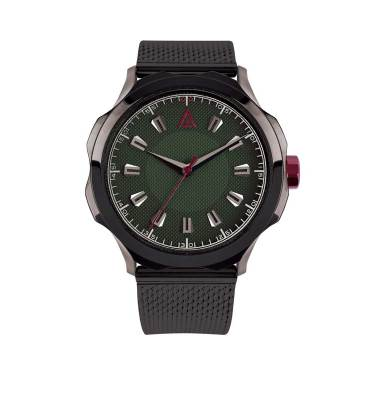 MEN'S CLASSIC WATCH GREEN MESH Nº 1953 FRONT