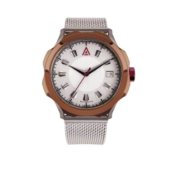 WHITE TIMEPIECES MESH NO 1953 FRONT