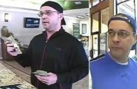 "Photos of the ""Loan Ranger Bandit"" courtesy of the FBI."