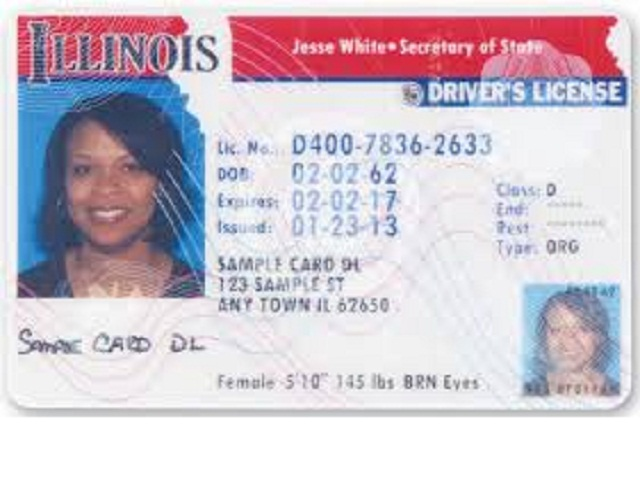 How Does Illinois Drivers License No Id