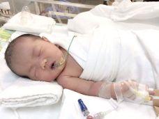 圖為作者的女兒出生時照片p1140-16-04
