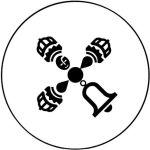 圖為「真佛般若藏」電子書網站的Logo p1148-12-01