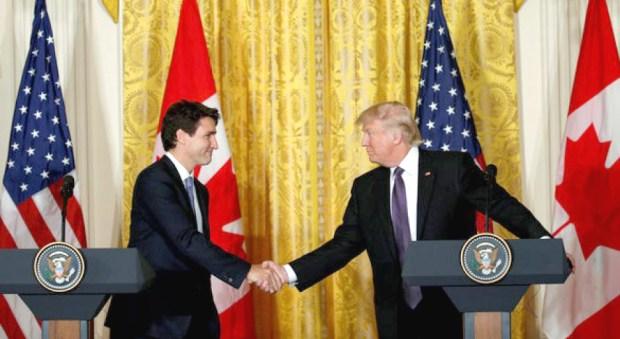 加國總理杜魯道、美國總統川普p1148-a1-03