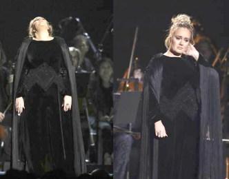 愛黛兒翻唱喬治麥可經典作品表演失常面露慚愧之色p1148-a8-16
