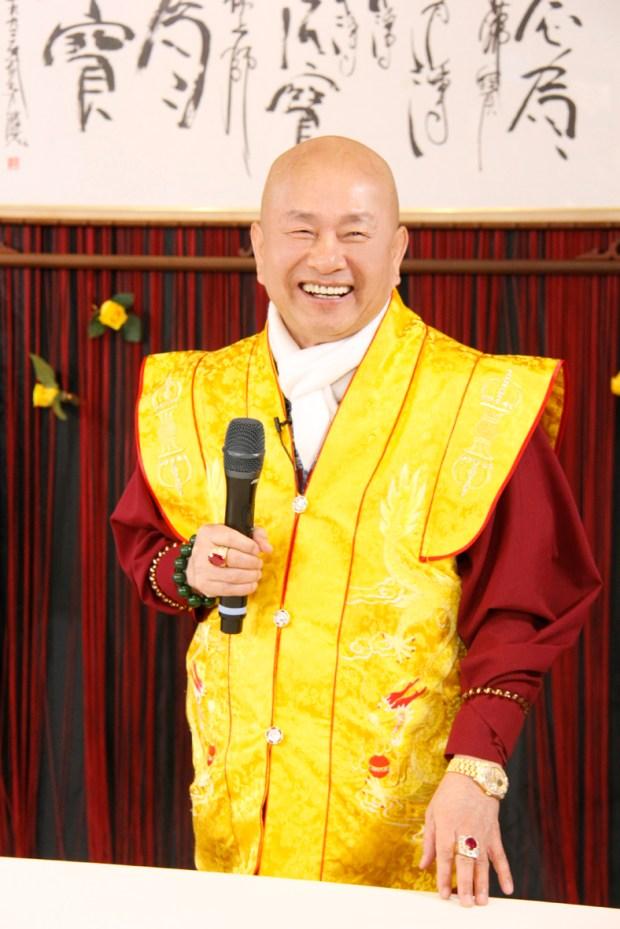 圖為蓮生法王盧勝彥p1151-07-01