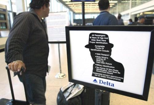 航空公司的生物特徵檢測說明