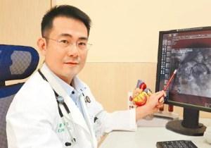 肺積水問題多 醫師說,有高血壓病史的男子,出現呼吸不順情況,就醫檢查發現有肺積水問題,經診斷確認為腎動脈狹窄,所幸經置放金屬支架後,大幅改善不適。 p1165-a6-04