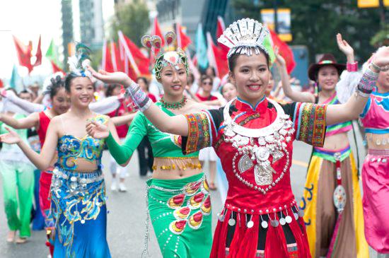 加國歡慶150年國慶 渥太華遊行歡慶國慶