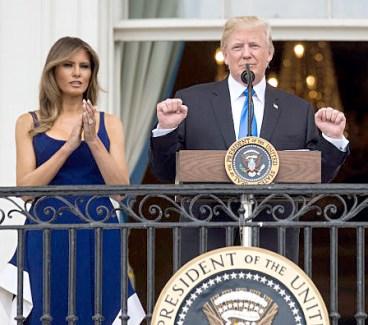 美國國慶 美國總統川普國慶演說