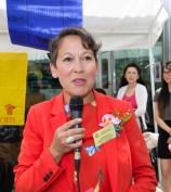 圖為貴賓省議員Ms. Melanie Mark致詞。