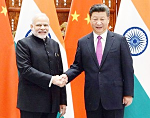 習近平與印度總理莫迪