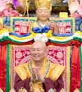 2017年9月23日週六晚間,美國西雅圖雷藏寺恭請蓮生法王盧勝彥主持幽冥教主地藏王菩薩同修會,四眾弟子護持。圖為蓮生法王盧勝彥。