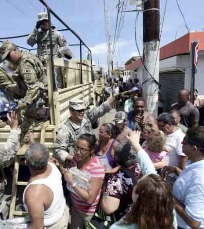 颶風重創波多黎各,軍方緊急疏散住在下游居民。