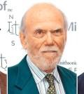 2017年諾貝爾物理學獎左起魏斯、巴瑞許、索恩。