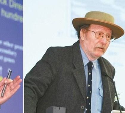 美國學者羅斯巴許(左起)、霍爾與楊恩同獲今年諾貝爾醫學獎。