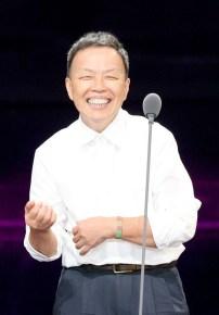 第52屆電視金鐘獎戲劇節目獎「天黑請閉眼」,王小棣老師策畫多部「植劇場」戲劇,上台發表感想。