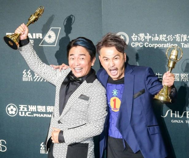 第52屆電視金鐘獎益智及實境節目主持人獎KID(林柏昇)、吳宗憲。