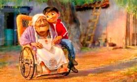 墨西哥男孩米格爾與祖母