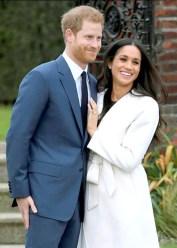 哈利王子與未婚妻在肯辛頓宮花園 接受眾人祝福