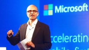 微軟執行長薩蒂亞.納德拉