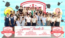 貴賓楊敦清先生、陳建安會長與優秀受獎學子大合照