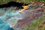 加州野火大到 衛星雲圖都看得見