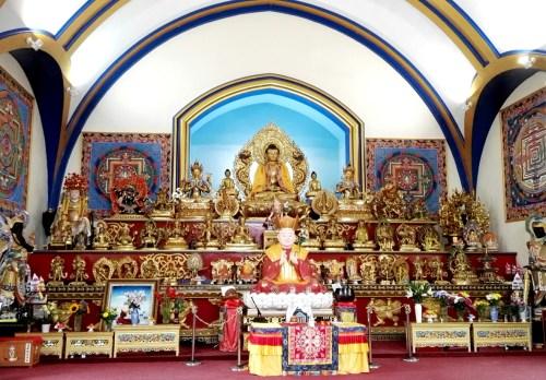 真渡雷藏寺莊嚴的壇城