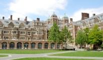 美國賓州大學校園一景