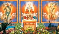 福佑雷藏寺韋陀菩薩、伽藍尊者法會莊嚴壇城一景