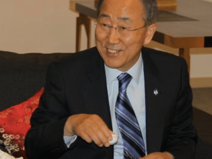 WTeaO.org: UN Ban Ki-Moon: World Tea Day, Enjoy Tea