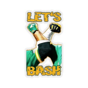 LET'S BASH Stickers