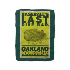 Sherpa Last Dive Bar. Fleece Blanket