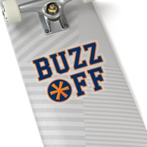 Buzz Off Stickers