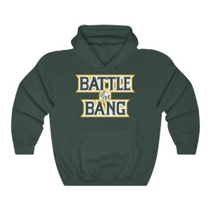 Battle of the Bang  Logo Hooded Sweatshirt