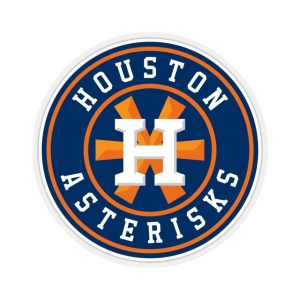Houston Asterisks Logo Sticker